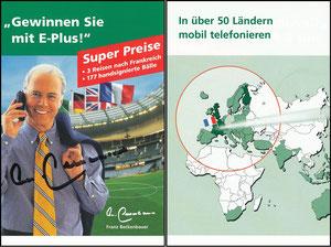 Beckenbauer, 1998, E-plus
