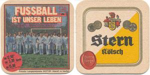 DFB, 1974, LP 'Fußball ist unser Leben', Bierdeckel
