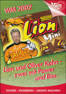 Kahn, 2002, Nestlé 'Lion', A4-Händlerheft