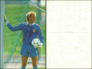 Pfaff, 1980er, Postkarte, Dank an SF Michael