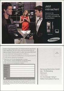 Ballack, 2008, Samsung, 'U 900 soul'