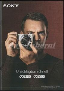 Neuer, 2017, Sony Booklet 6300 & 6500, Dank an SF Robert