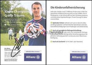 Neuer, 2014, Allianz 'Kinderunfallversicherung'