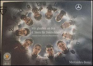 DFB, 2010, Mercedes Benz, '4. Stern', Dank an SF Norbert
