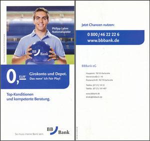 Lahm, 2007, BB-Bank, Folder