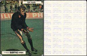 Maier, 1972, Samo Chips, Aufkleber