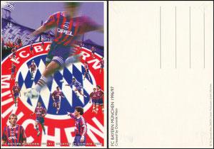 Postkarte, 1996, Künstlerkarte 'Dominik Wein' A6