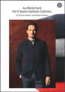 FanShop, 2016, Hummels 'Cashmere Collection', A4, Dank an SF Robert
