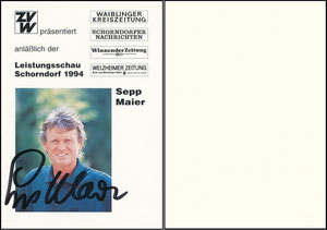 Maier, 1994, Leistungsschau Schorndorf