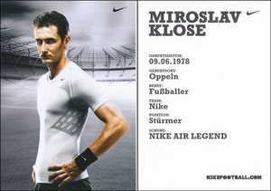 Klose, 2007, Nike