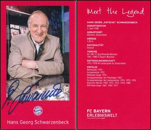 Bayern Erlebniswelt, 2017, 'Meet the Legend', Schwarzenbeck