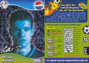 Ballack, 2002, Pepsi 'Trading Card'