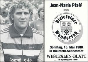 Pfaff, 1988, Wandertag Bielefeld