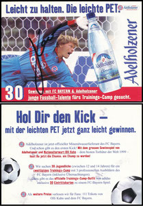 Kahn, 2001, Adelholzener