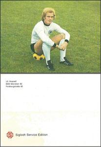 Hoeness, 1974, Sigloch, Rückseite mittig OHNE Erscheinungstext