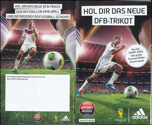 Müller, Thomas, 2014, Adidas, Sport 2000, Booklet