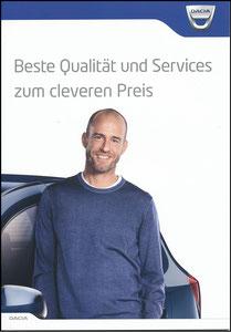 Scholl, 2017, Dacia, Booklet, A5