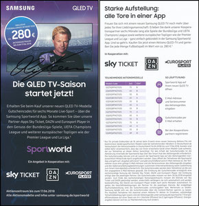 Kahn, 2018, Samsung, signiert Kahn im Febr. 2019