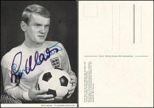Maier, 1967, Spielerkarte