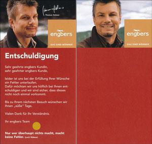 Helmer, 2004, Engbers 'Entschuldigung'