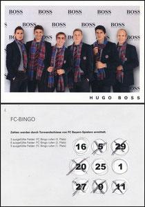 Mannschaftskarte 2009, 'Hugo Boss'