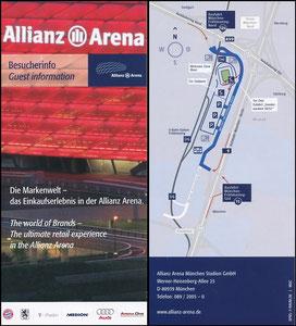 Allianz Arena, 2008, Besucherinfo