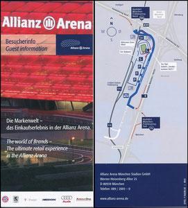 Allianz Arena, 2007, Besucherinfo