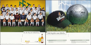 DFB, 2004, Bitburger, Klapp-Flyer