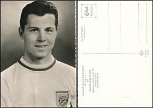 Beckenbauer, 1968, Vorsorge Lebensversicherung München, ohne Druck-AG
