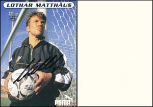 Matthäus, 1998, Puma, blanko Rückseite