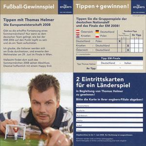 Helmer, 2008, Engbers 'Tippspiel EM 2008'