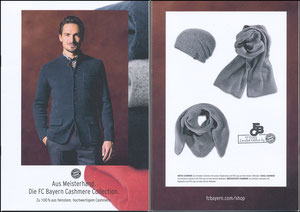 FanShop, 2016, Hummels, 'Cashmere-Collection'