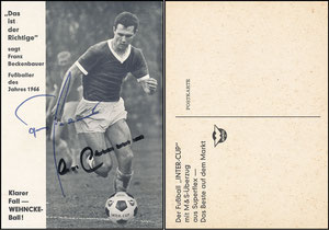 Beckenbauer, 1966, Wehnke-Ball