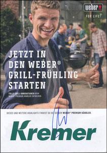 Müller, Thomas, 2018, Weber-Grill 'Kremer Gartencenter', A4