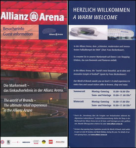 Allianz Arena, 2006, Besucherinfo
