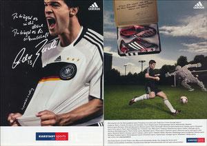 Ballack, 2007, Adidas 'Karstadt sports', Booklet, A5