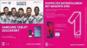 DFB, 2018, Samsung, Großformat, sign. Müller am 22.11.2019 vor dem Abflug zum Düsseldorf-Spiel