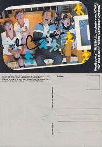 Beckenbauer, 1983, Atari, Dank an SF Norbert