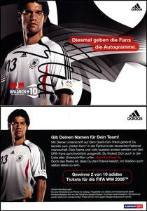 Ballack, 2006, Adidas +10, KarstadtSport