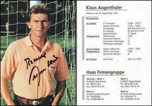 Augenthaler, 1997, Haas