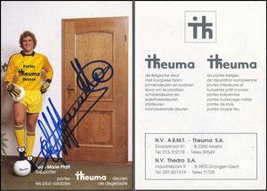 Pfaff, 1986, Theuma-Türen, gelb, belgische Karte