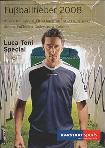 Toni, 2008, Karstadt Sports, Booklet A5