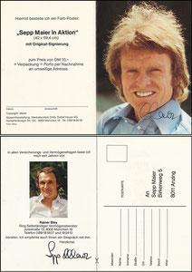 Maier, 1982, 'Ring selbstst. Verm.Berater', Klappkarte
