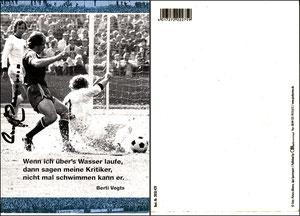Beckenbauer (mit Vogts), dpa Picture Alliance