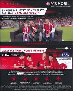 Bayern München, 2016, 12'2016, FCB Mobil 'Lehmann auf Sofa', 15% Rabatt, Version 2