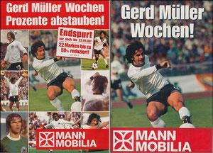 Müller, Gerd, 2006, Mann Mobilia, Werbeblatt A4