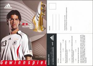 Ballack, 2005, Adidas 'Sport-Fink'