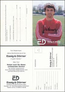 Niedermayer, 1979, Essig & Dörner, Klappkarte