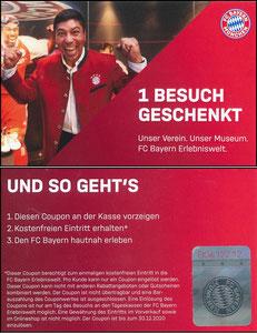 Bayern Erlebniswelt, 2019, Gutschein, mit Elber, Kleinarte