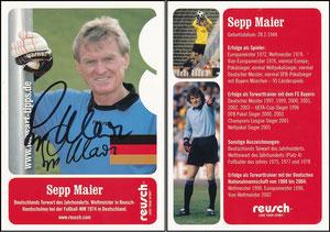 Maier, 2006, Reusch, mit Deutschland-Fahne, mit Druck-AG